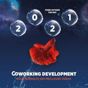 Coworking Development vous souhaite ses meilleurs voeux